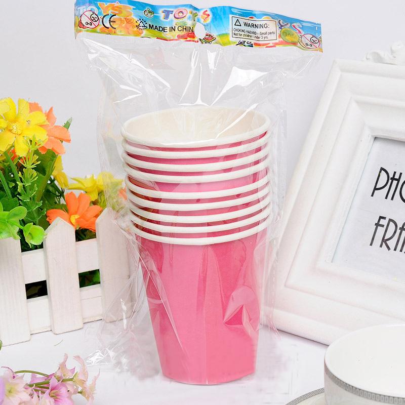 unids festival desechable vaso de papel para fiestas de cumpleaos de la boda de halloween