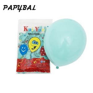 Image 4 - 25pc 베이비 샤워 1 생일 풍선 블루 핑크 호일 풍선 아기 첫 번째 생일 장식 1 년 생일 아이 파티 장식