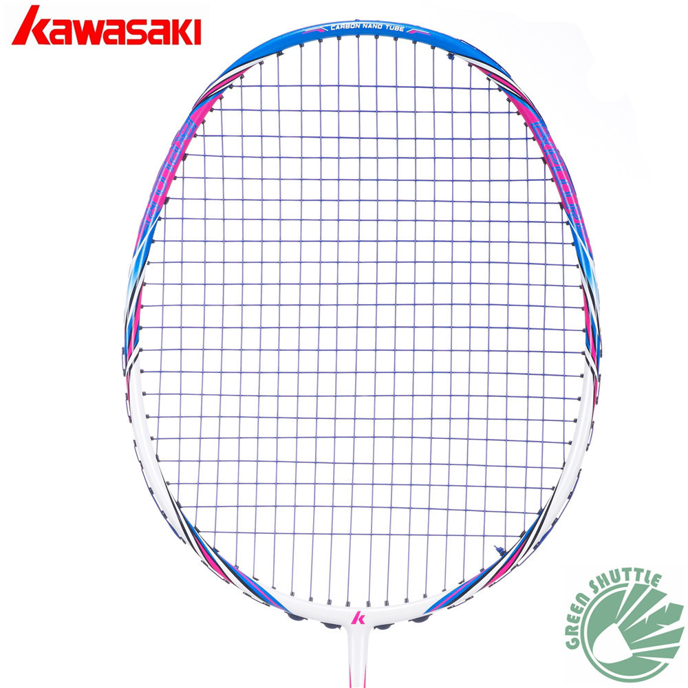 2018 New Half star Genuine Kawasaki Full Carbon Badminton ...