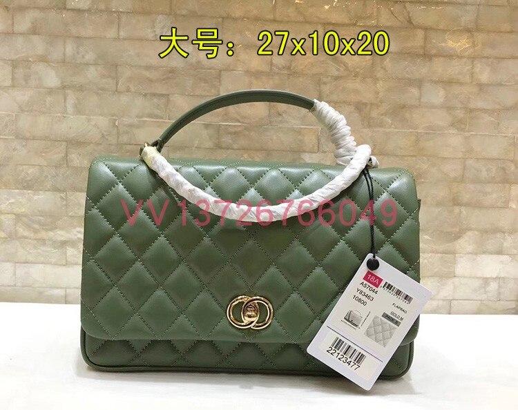Umhängetaschen Wc0484 Handtaschen Luxus Leder grün Schwarzes Designer Taschen Frauen Berühmte weiß Echtem Marke Für Runway 100 rosa RwIrEqR8