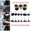 Ferramenta de Reparo Do Corpo de Carro DIY Ferramentas de PDR Paintless Dent Reparação Automóvel recém Projetar Puxando Ponte Dent Remoção 7x guias para VW, Audi, Benz