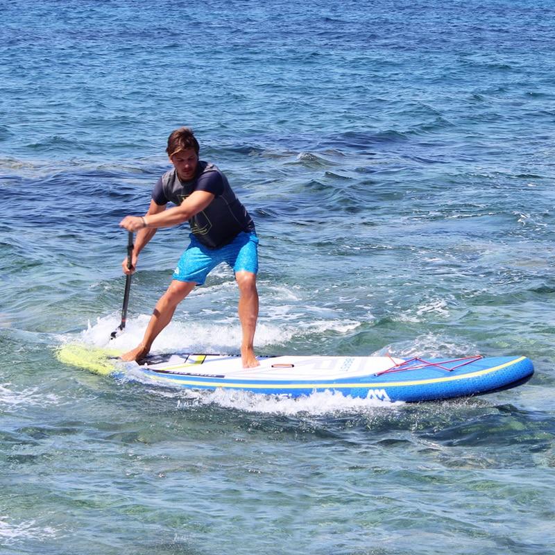 Nueva tabla de surf 320*81*15 cm AQUA MARINA bestia inflable SUP stand up padel surf kayak inflable correa de pierna de barco A01013