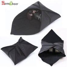50x50cm Foldable Cloth Camera Bag Cover Lens Bag Magic Camera Wrapper for Canon Nikon Sony DSLR Camera/Lens/telescope/Filter