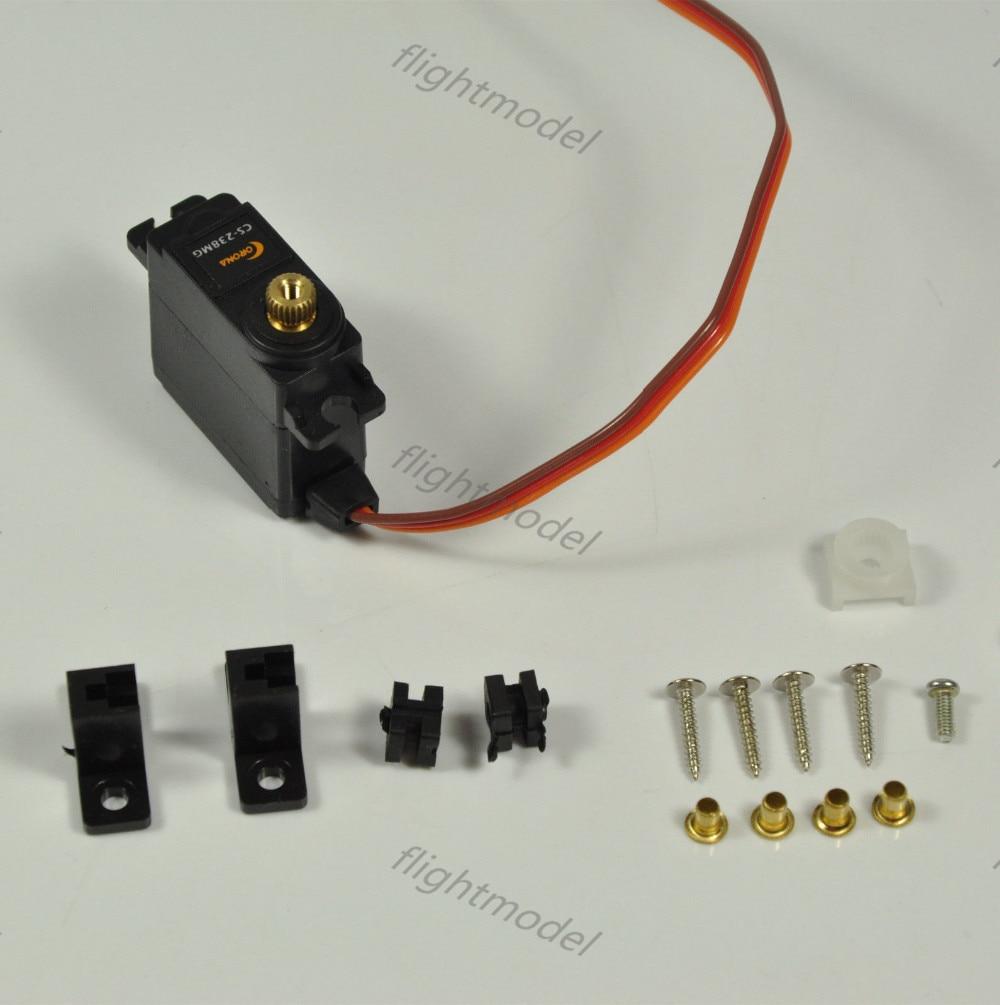 22g/ 4.6kg/ .14 sec Corona Small Servo CS-238MG Metal Gear Micro RC Servo 29x13x30mm jx pdi 5521mg 20kg high torque metal gear digital servo for rc model