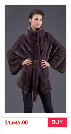 REAL MINK FUR COAT WINTER WOMEN COAT (4)