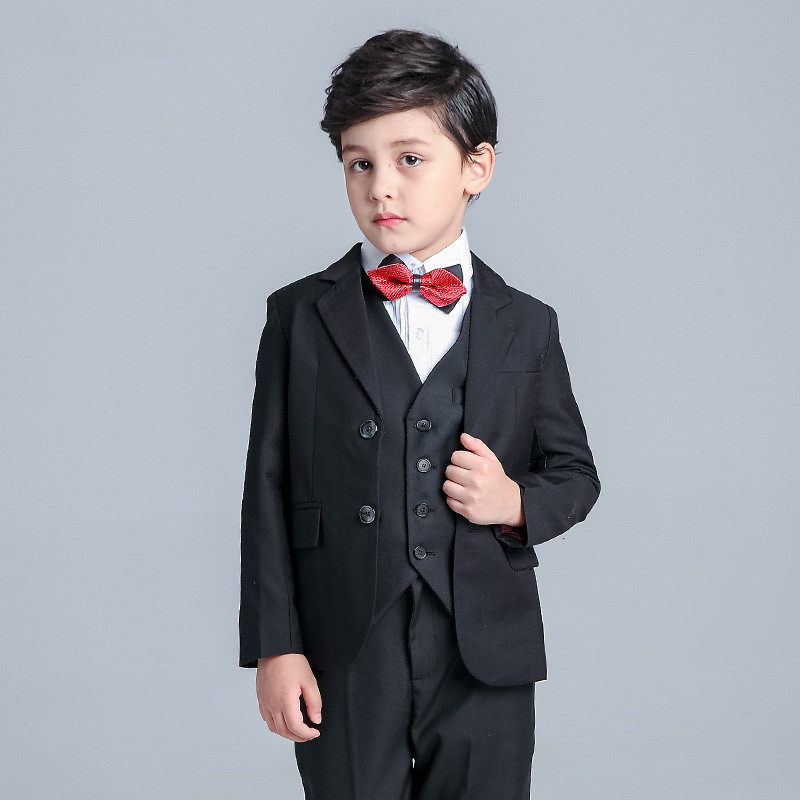 Us 75 0 Baby Boys Kids Suits Boy Suit For Weddings Children Formal Black Dress Wedding Boy Suits Custom Made In Boys Attire From Weddings Events