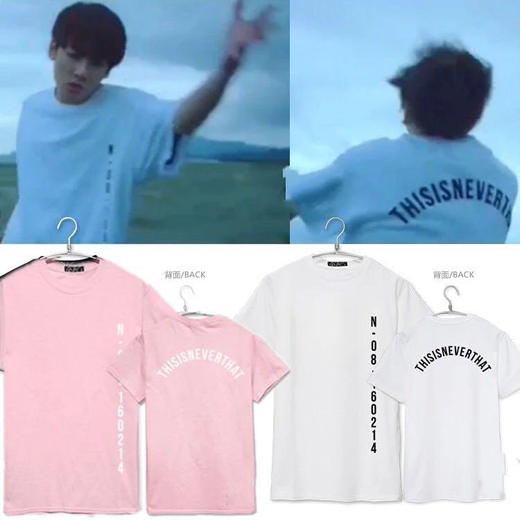 2016 nueva llegada camiseta BTS bangtan Niños unisex camiseta Kpop BTS Save me jungkook mismo estilo Manga corta pareja camiseta