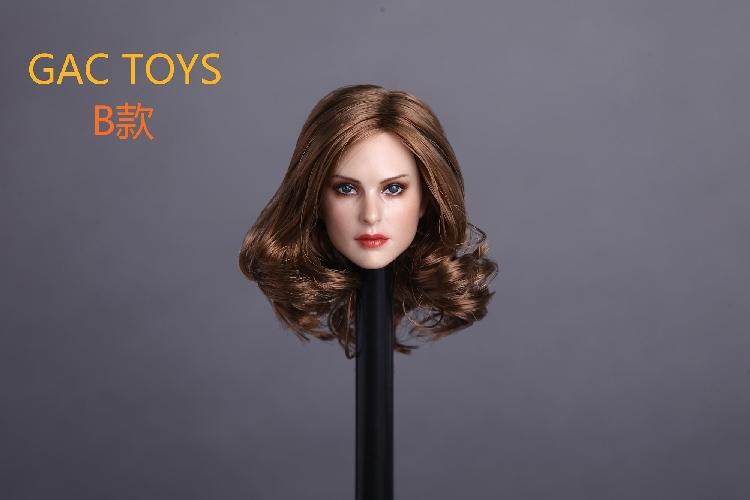 1/6 European Female Beautiful Lady Head Sculpt for 12in Collectible Phicen VC UD LD ND Doll Action Figure GACTOYS GC0051/6 European Female Beautiful Lady Head Sculpt for 12in Collectible Phicen VC UD LD ND Doll Action Figure GACTOYS GC005