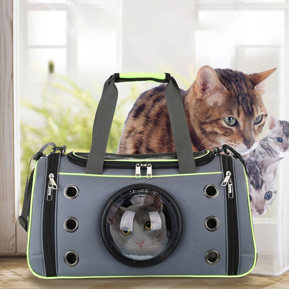 Pet Dog Carrier Bag Space Capsule Shape Breathable Handbag Puppy Outdoor Travel Shoulder Bag Soft Kennel Large Small Dogs Cats #2