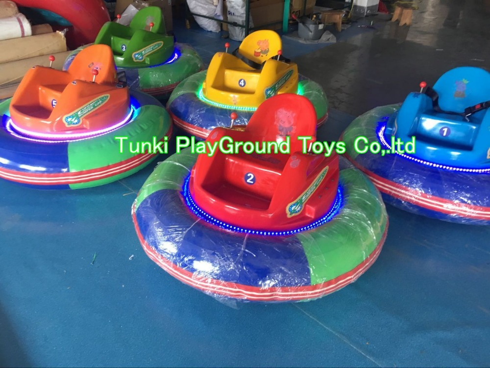 Indoor Theme Park Play Battery Bumper Cars For Kids