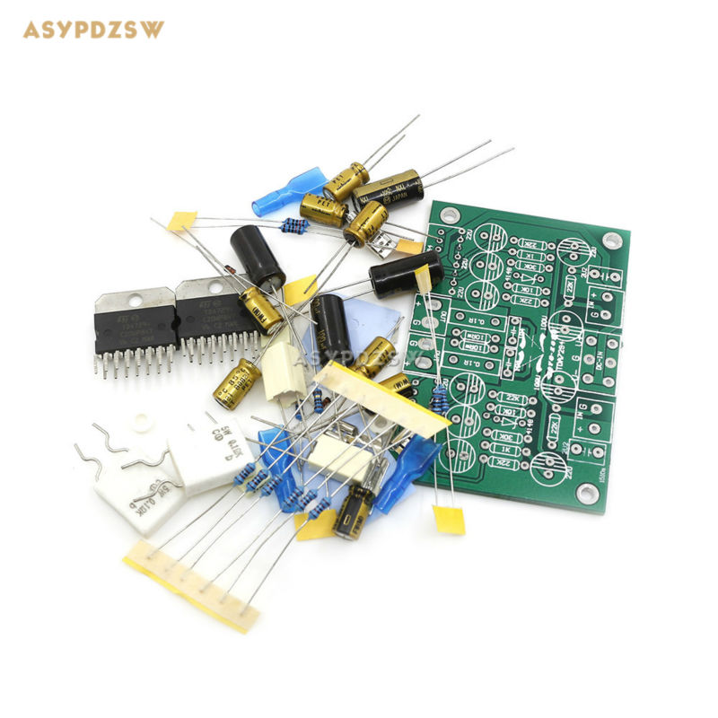 TDA7294 Pure Power amplifier DIY Kit 68W+68W Dual channel audio amplifier Kit потребительская электроника oem mono power amplifier 2 tda7294 80w mono power amplifier tda7294