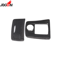 Center Cigarette Ashtray Box Gear Shift Panel Cover Trim Carbon Fiber For Benz A CLA GLA Class A45 CLA45 GLA45 2016 2017 RHD LHD