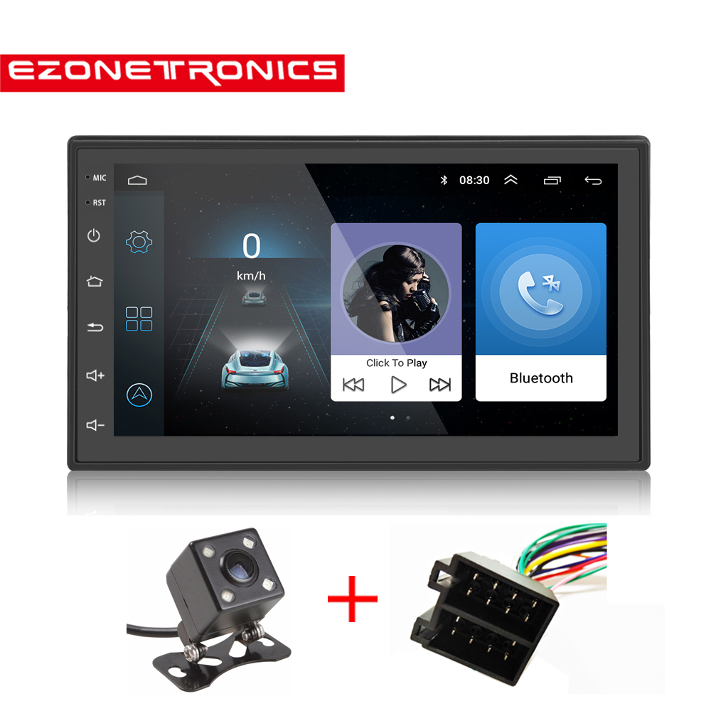 Auto Radio 2Din Android 6.0 GPS Navigation Car Radio Stereo 71024*600 Universal Wifi Bluetooth Audio Player(No DVD)