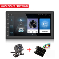 Auto Radio 2Din Android 6.0 GPS Navigation Car Radio Stereo 71024*600 Universal Wifi Bluetooth Audio Player(No DVD)