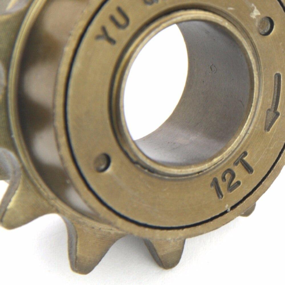 34MM 12T 12 Tooth Single Speed Freewheel Bike Sprocket Gear Accessory New Hot