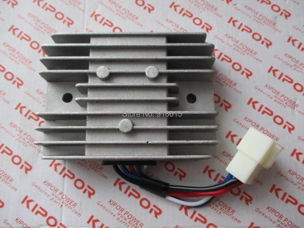 free shipping kipor KGE12E3 KGE12E KGE13E3 KGE12E KG670-15300# CHARGER REGULATOR GENERATOR PARTS avr 8 5kw 3 phase 380v for kipor kg690 g kge12e3 kde12ea3 kge13e3 x3 t3 9 5kw 688cc 15kw generator automatic voltage regulator