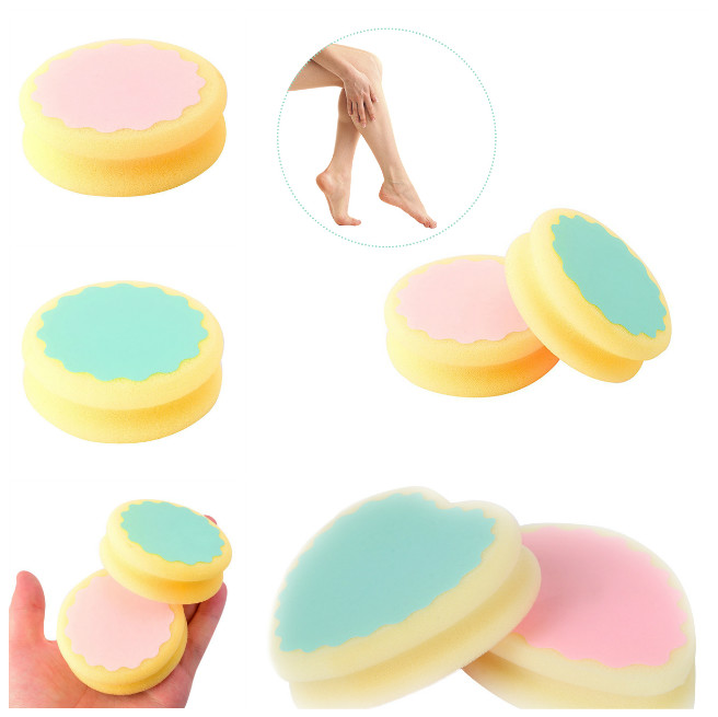 Painless Hair Removal Depilation Sponge Pad Hair Leg Arm Remover Tool Kit Well WH998