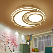 Modern Remote Control Led Lamp Ceiling Light Fixture Living Room Bedroom Christmas Decoration For Home Lighting White Metal 220V