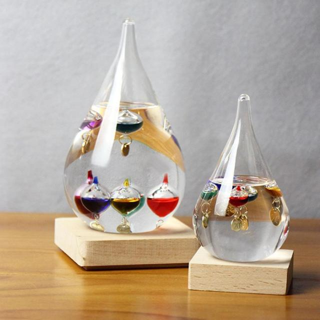 European Style Weather Forecast Bottle Storm Glass Barometer