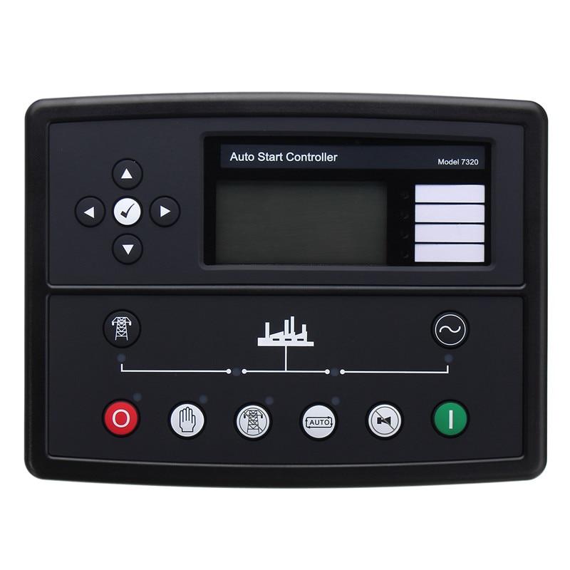 Deep sea controller DSE7320 Generator Genset Auto Start Control Module New Electronics Controller Control Module Panel dse5110 deep sea controller generator controller ats moduel