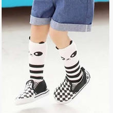 Boys girls infant socks baby lovely cartoon animal socks knee high girl leg warm autumn kids socks knee spring autum clothing