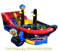 Pirate Ship bouncy indoor playground equipment