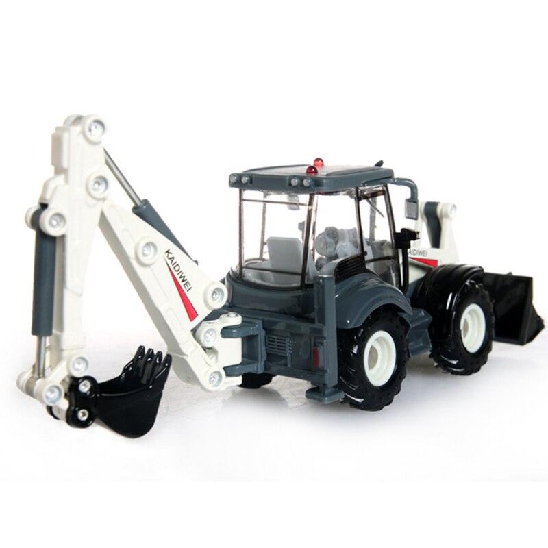 KAIDIWEI-Alloy-Excavator-150-Two-way-Forklift-Bulldozer-Back-Hoe-Loader-shovel-Diecast-Model-For-Kid-Gift-Toys-3