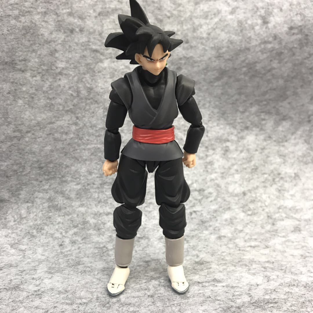 Balle Dragon SUPER Super Saiyan Rose Goku noir Zamasu PVC Gokou figurine noire jouet de collection 6''