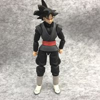 SHF S.H.Figuarts Dragon Ball SUPER Super Saiyan Rose Goku Black Zamasu PVC Gokou Black Figure Collectible Model Toy 6''