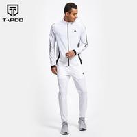 TAPOO Весна мужские комплекты Повседневный Спортивный костюм мужские тонкие комплекты TP8119002