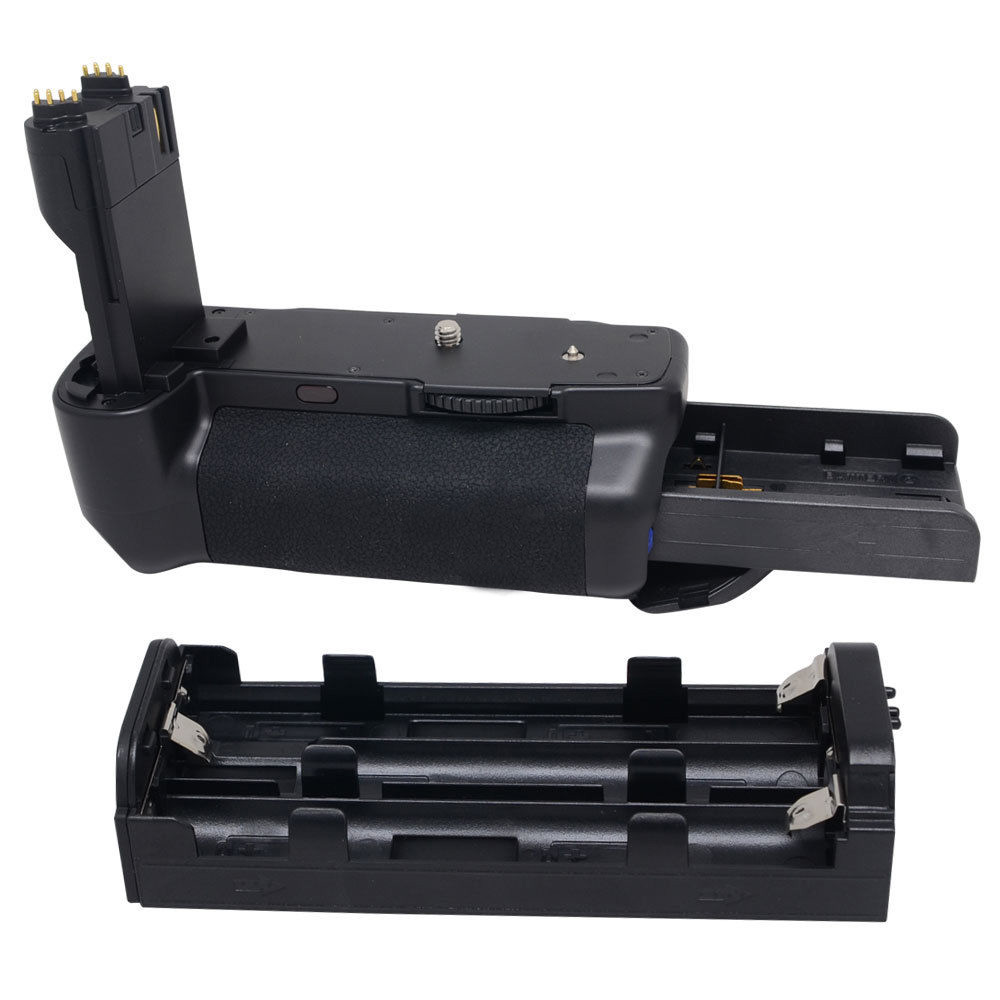 MEIKE 5D2 MK-5D2L LCD Vertical Battery Grip hand pack holder For canon 5D2 5dII Mark II camera BG-E6