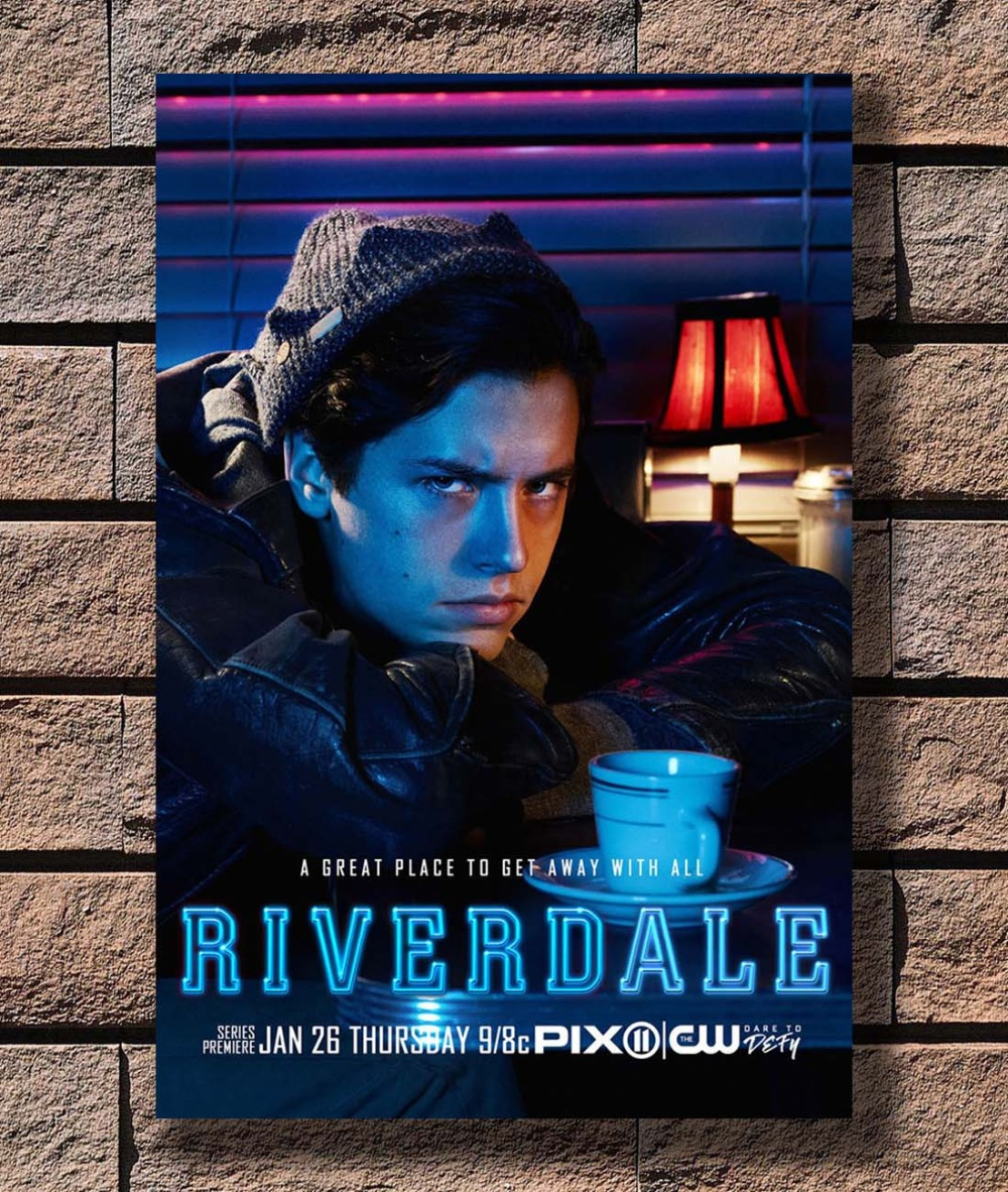 RIVERDALE TV SHOW Art Silk Poster 12x18 24x36