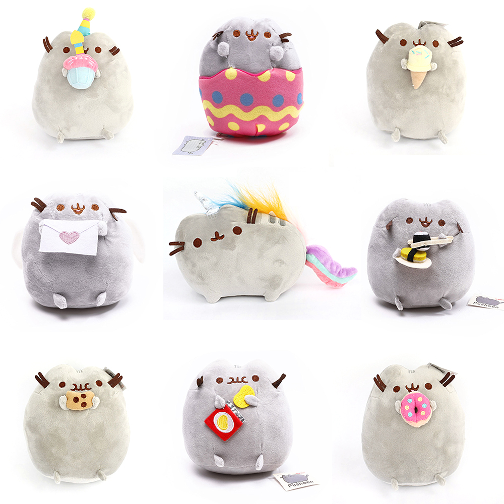 15cm/25cm Pusheen Cat Plush Toys Stuffed Animal Doll Animal Pillow Toy Pusheen Cat Gift For Kid Kawaii Cute Cushion cartoon cute doll cat plush stuffed cat toys 19cm birthday gift cat high 7 5 inches children toys plush dolls gift for girl
