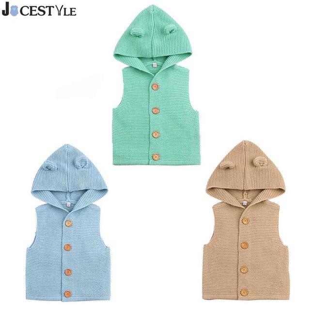 20887f9253d9 JOCESTYLE Baby Boys Girls Knitting Vests   Waistcoats Fashion Kids ...