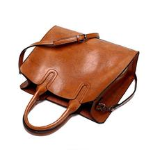 SMOOZA Leather Handbags Big Women Bag High Quality Casual Female Bags Trunk Tote famous Brand Shoulder Bag Ladies Large Bolsos