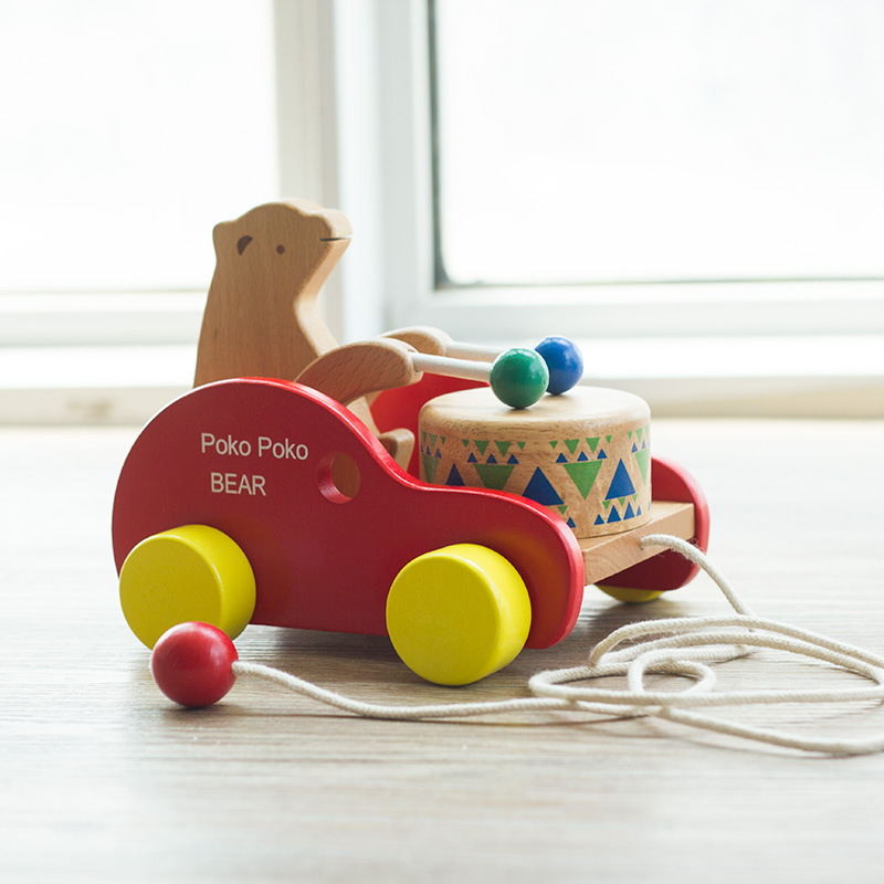 Toys For Early Childhood : ᐊearly childhood education ᗛ car toys dragging bear