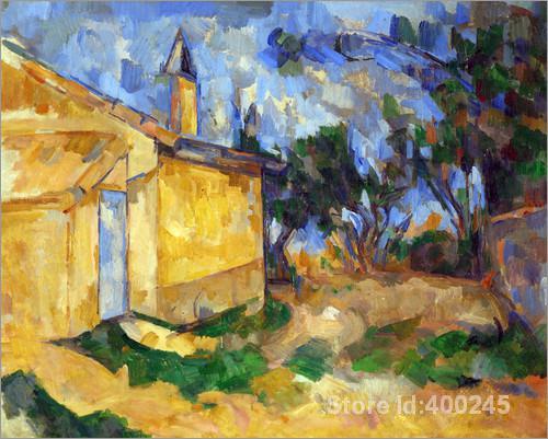 Famous Arts Reproduction Le Cabanon de Jourdan Paul
