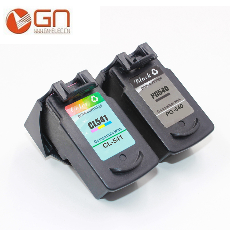 GN PG 540 541 Remanufactured ink cartridge PG540 CL541 for Canon Inkjet PIXMA MG2100 MG2140 MG2150 MG2240 MG2250 MG2255 printer 5bk 2cl large capacity ink cartridge compatible pg 540 cl 541 pg540 cl541 for canon mg2150 mg2250 mg3150 mg3200 mg3550 printer