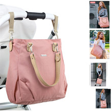 Insular Brand Fashion Baby Diaper Bags Waterproof Nappy Changing Bag Multifunctional Mommy Stroller For Care