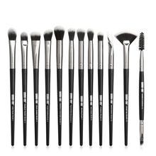 12 pcs/set Professional Makeup Brushes Set Make up Brush Eye Shadow Blending Eyeliner Eyelash Eyebrow Brush Makeup Tool цены