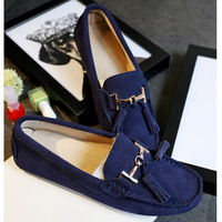 Shoes Fringe 2018 New brand women genuine Leather flats casual female Moccasins Spring Summer lady loafers Women Driving Shoes