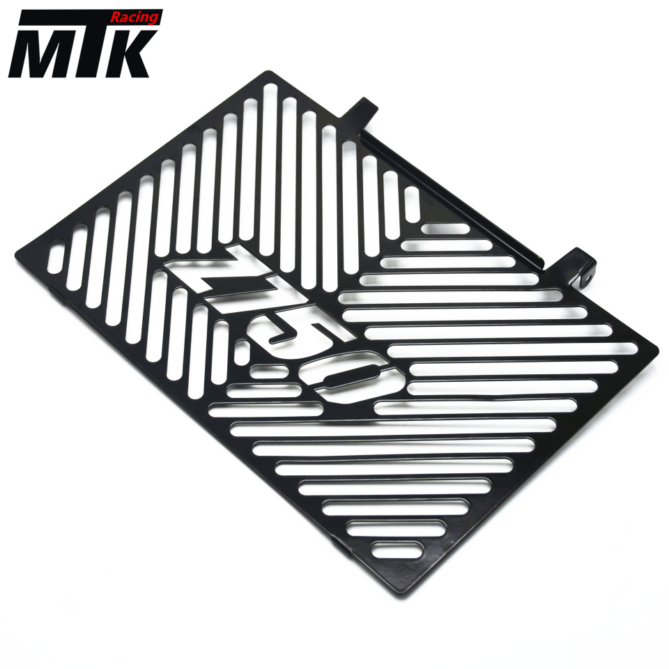 MTKRACING Free delivery For Kawasaki Z750 Z 750 2008-2012 Motorcycle Accessories Radiator Grille Guard Cover Protector Black