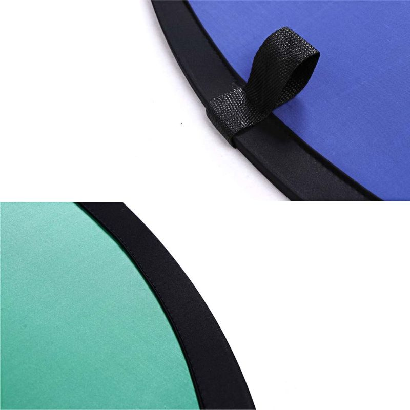 Image 5 - 100*150CM Oval Collapsible Portable Reflector Blue and Green Screen Chromakey Photo Studio Light Reflector For PhotographyBackground   -