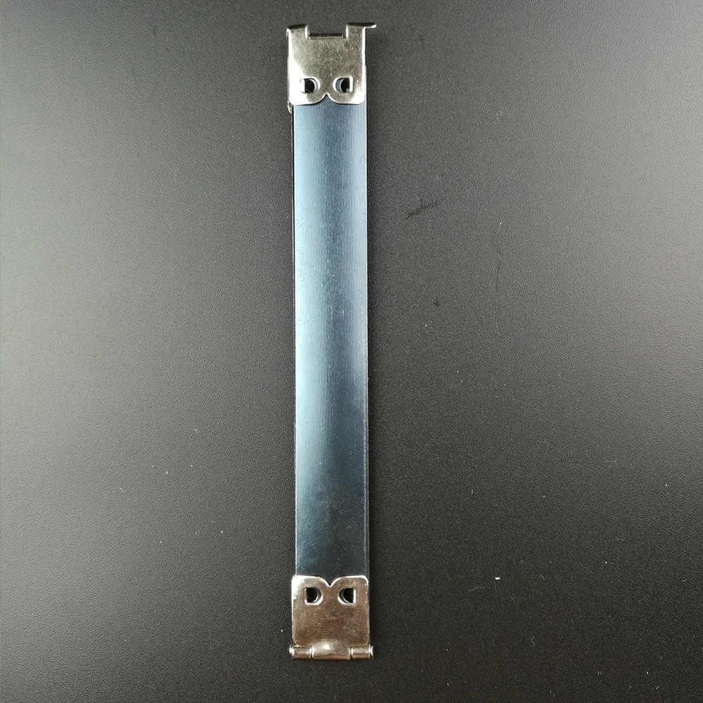 30ピース銀金属内部のflexフレーム用diy財布財布財布春フレックス財布フレームdiy縫製バッグアクセサリー10 12センチ