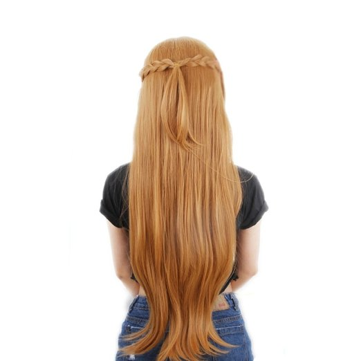 asuna hair style sword wig reviews shopping 3405