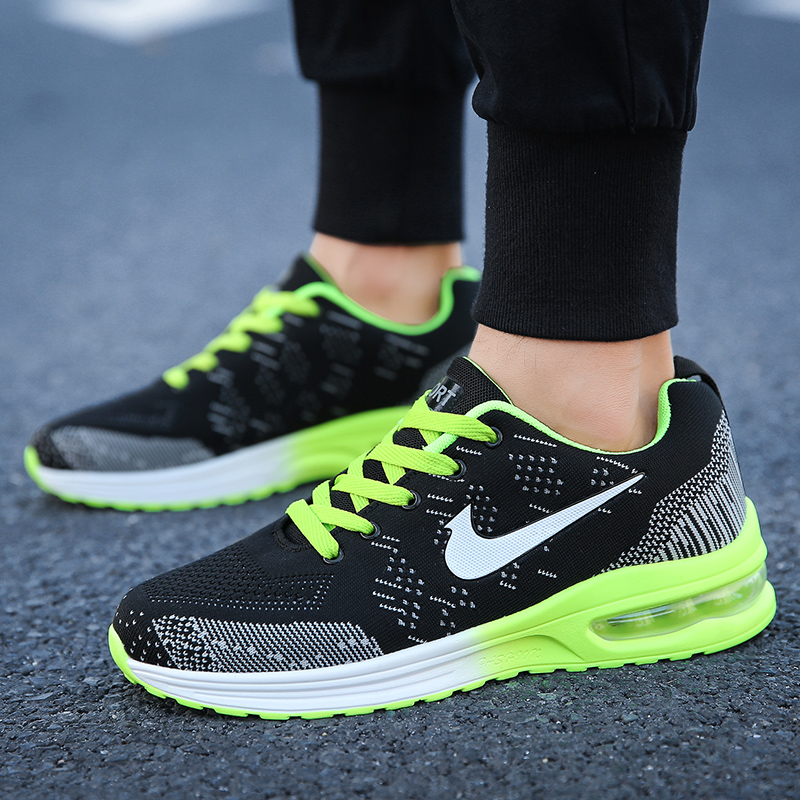 New Breathable Running Shoes Women Men Luxury Brand Athletic Sneakers Hot Sell Gym Sport Trainers Zapatillas Hombre Zapato Mujer