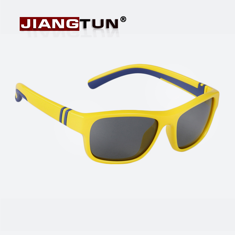JIANGTUN Fashion Trendy Child Kids Boys Girls Polarized Sunglasses UV 400 Shades Baby Cool Goggles Sun Glasses