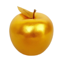New 6pcs Artificial Golden Apples Simulation Fruit Crafts Home Decoration Christmas Decor Hot Sale