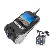 2 pollici del precipitare della macchina fotografica dashcam LCD HD 1080 P Dell'automobile Del Veicolo DVR Cam WiFi Della Macchina Fotografica di Visione Notturna Video Recorder