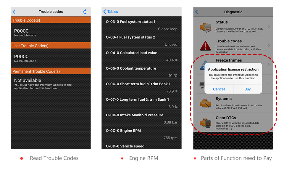 Elm327 V1.5 WIFI OBD2 PIC18F25K80 Chip Code Reader Elm 327 Bluetoth OBD2 Auto Scanner V1.5 for Android/IOS Car Diagnostic Tool